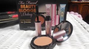Mascara & bronzer open