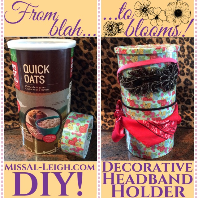 DIY Decorative Headband Holder