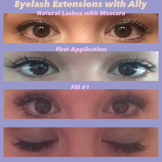 Eyelash Extensions with Ally Nguyen
