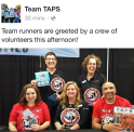 Day 1 with Carol & Marie - Team TAPS Race Directors, & other Team TAPS supporters!
